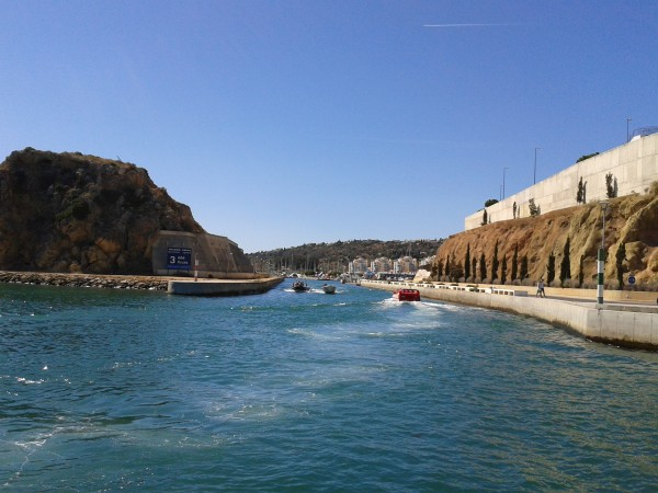 Hafeneinfahrt Albufeira - Peter